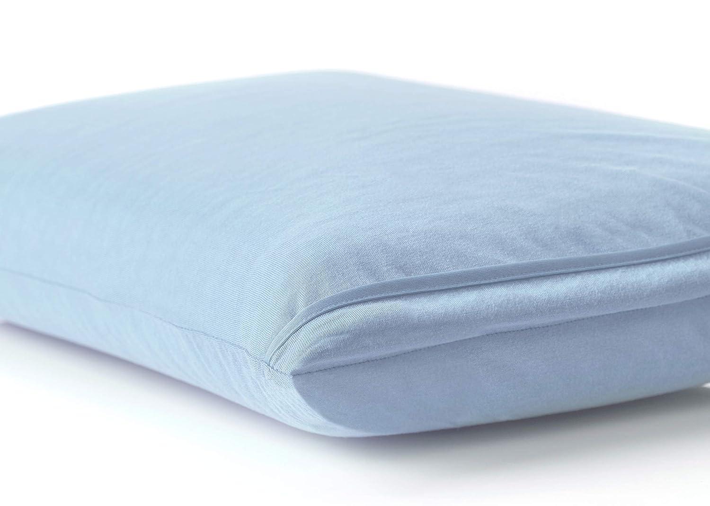 BSensible Tencel Funda de almohada protectora impermeable y transpirable Celeste 135 x 40: Amazon.es: Hogar
