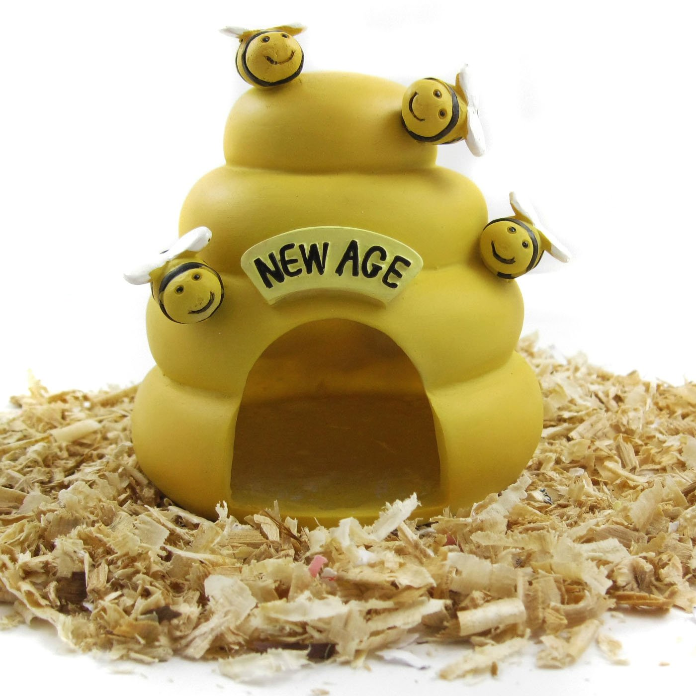 Amazon.com : Alfie Pet by Petoga Couture - Bumble Bee Hideout Hut for Small Animals like Dwarf Hamster and Mouse : Pet Habitats : Pet Supplies