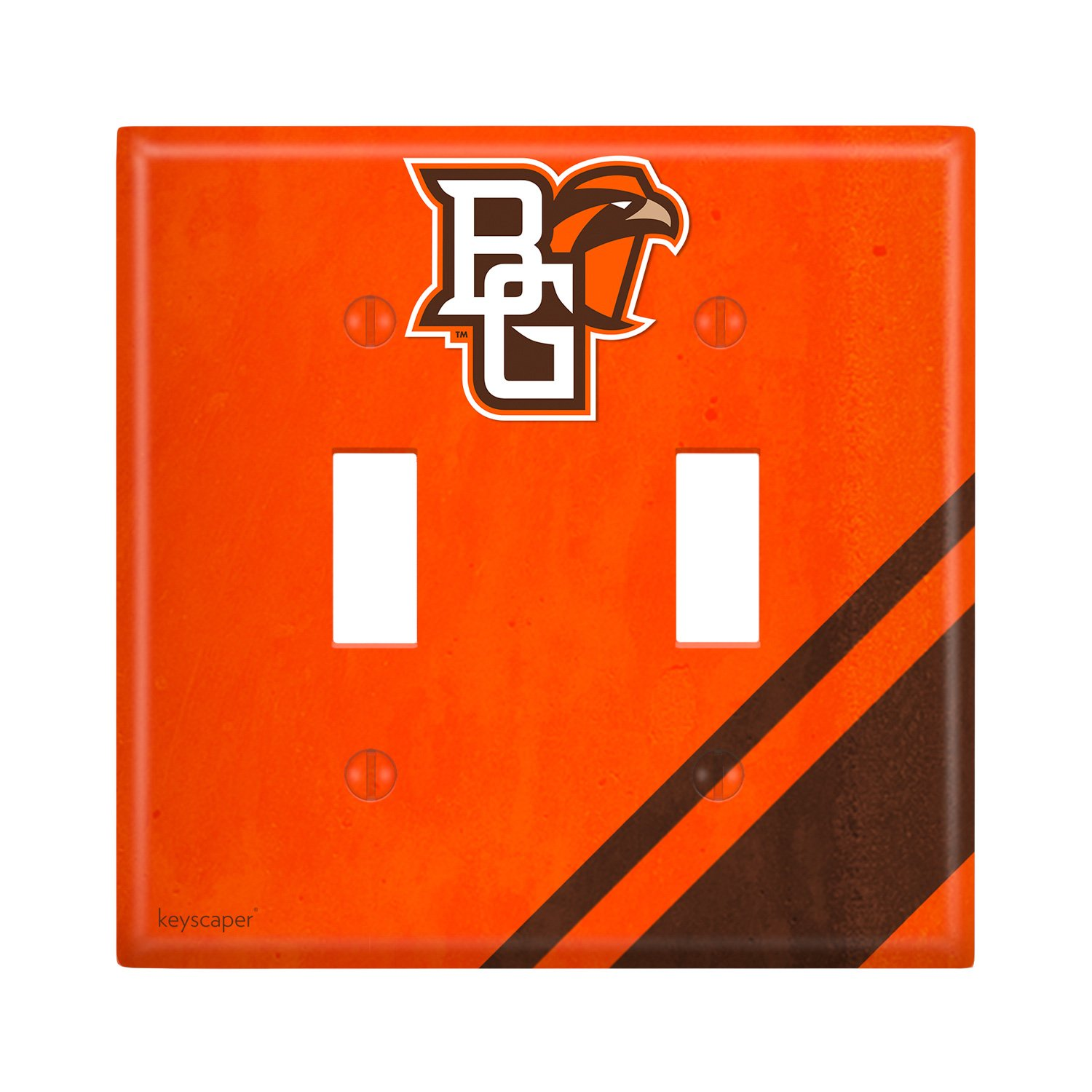Bowling Green Double Toggle Light Switch Cover NCAA