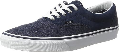 Suede & Suiting Era Shoes   Blue   Vans