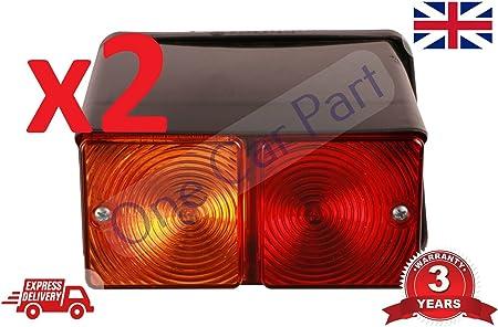 Paar 2610 3610 4000 4610 5000 5600 7700 Traktor 550 Bagger Rücklicht Lampe Auto
