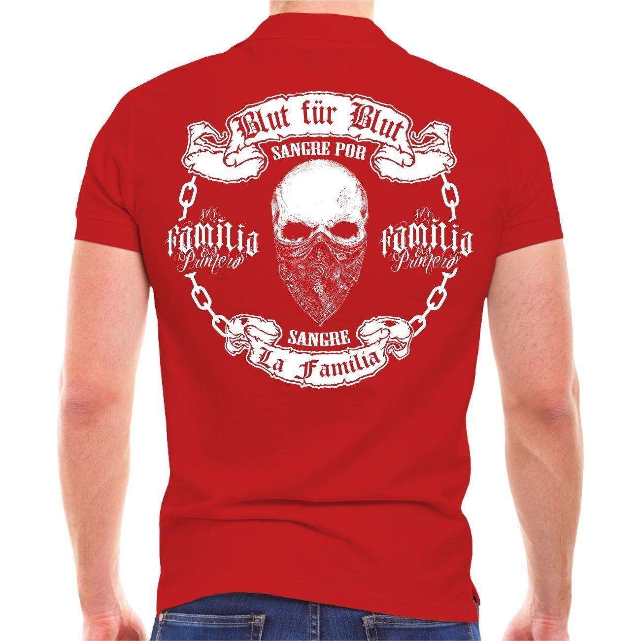 Life Life Life Is Pain Männer und Herren Polo Shirt LA Familia Blaut für Blaut (mit Rückenduck) Größe S - 10XL B079Q47M2S T-Shirts Ausgezeichnete Funktion 09bdd5
