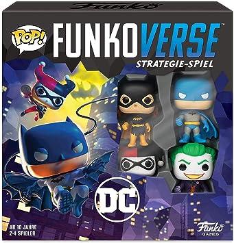 Funko 43463 DC100 Funkoverse - Juego de Mesa (4 Personajes): Amazon.es: Juguetes y juegos