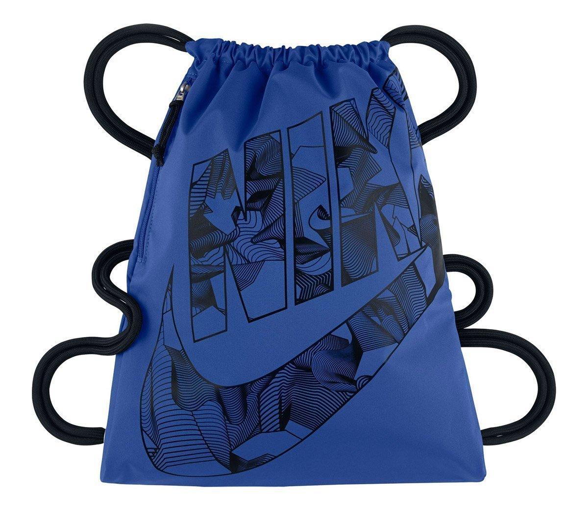 Nike Heritage Gymsack - Mochila para mujer, color azul, talla única BA5351-481