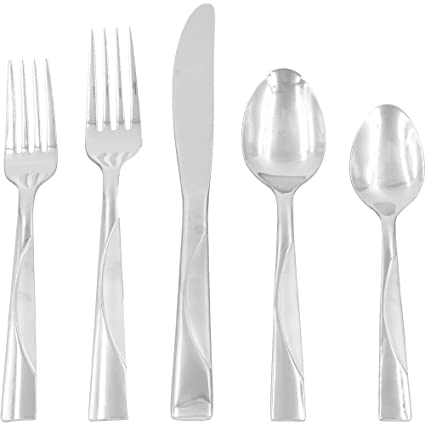 Mainstays Kingsley 20 Piece Flatware Set