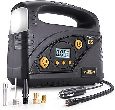 AUTLEAD C5 Compresor Aire Coche, 40L/Min Compresor de Aire ...