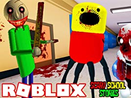 Roblox Game Night - Watch Clip Roblox Scary School Stories Prime Video