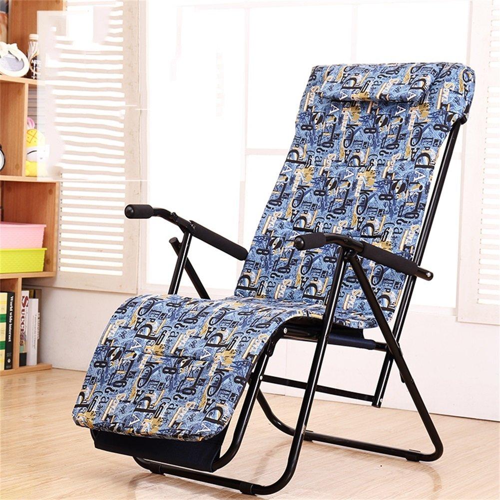 Mode Folding Recliner Alter Mann Nap Break Chair Home Office Balkon Multifunktions Freizeit Stuhl Sitz
