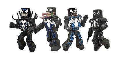 Amazon Com Diamond Select Toys Marvel Minimates Venom Through The