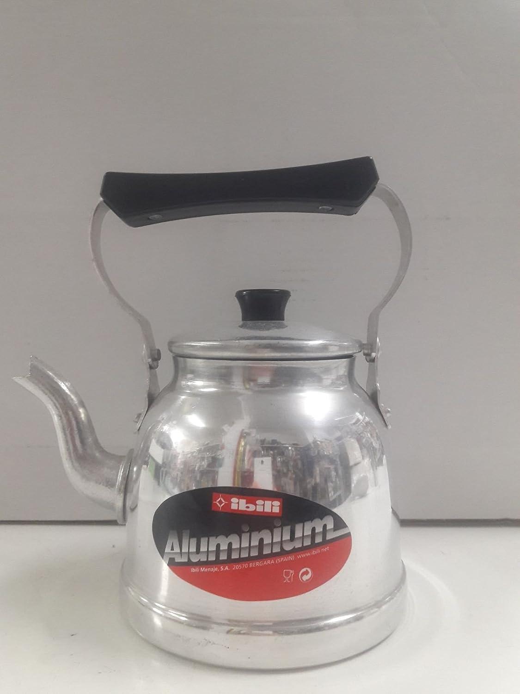 IBILI Menaje, S.A. Cafetera Pava IBILI 1,5L Aluminio Ref. 1009 ...