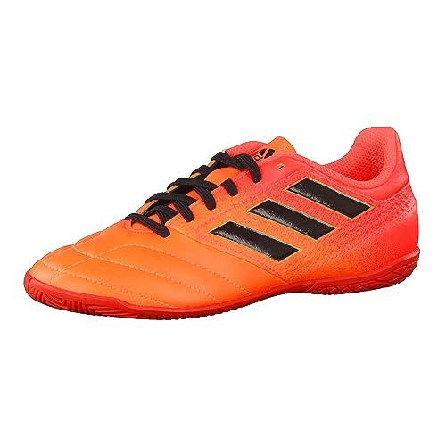 adidas Ace 17.4 In J, Zapatillas de fútbol Sala Unisex niños, (Narsol/Negbas/Rojsol), 28 EU: Amazon.es: Zapatos y complementos