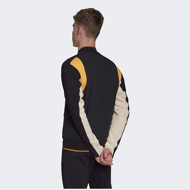Quejar Tranvía pesadilla  adidas VRCT Jacket-Men's Casual 3XL Black/Black/Real Gold at Amazon Men's  Clothing store