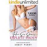 Taboo Sex Stories: 5 Explicit Daddy MMMF Menage Collection: Forced Erotic Short Romance Older Man Younger Woman Group (Big Ro