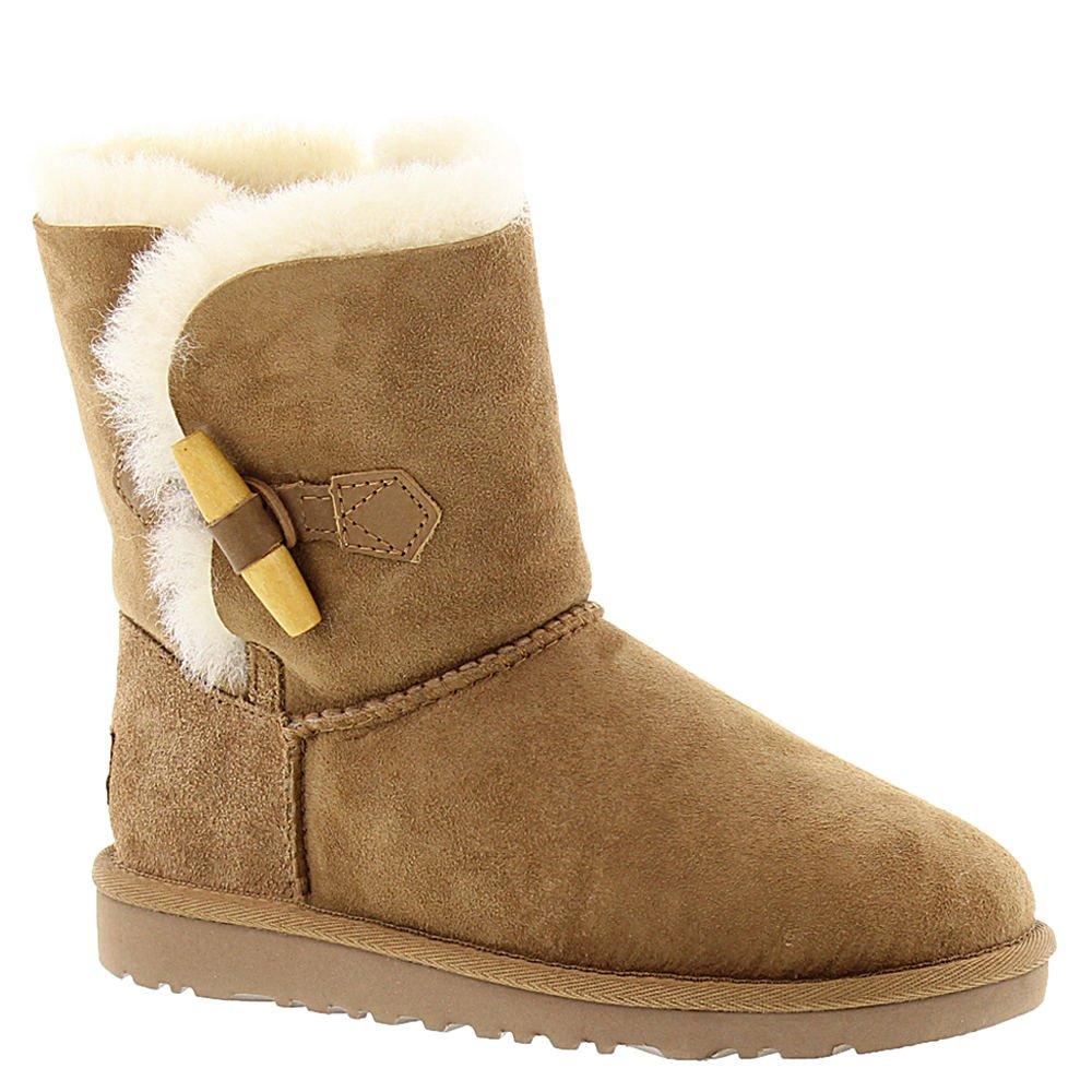 UGG Australia Girls' Ebony Sheepskin Toggle Fashion Boot (6 Big Kid M, Chestnut)