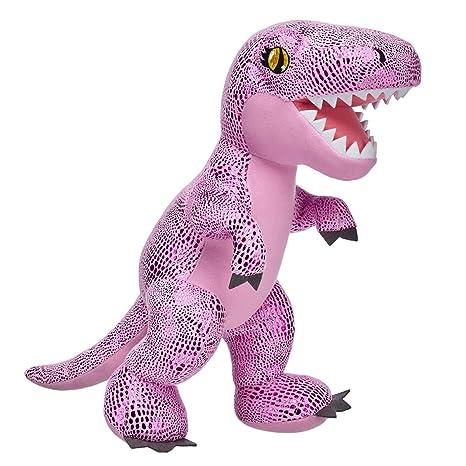 Amazon Com Build A Bear Workshop Pink Tyrannosaurus Rex Stuffed