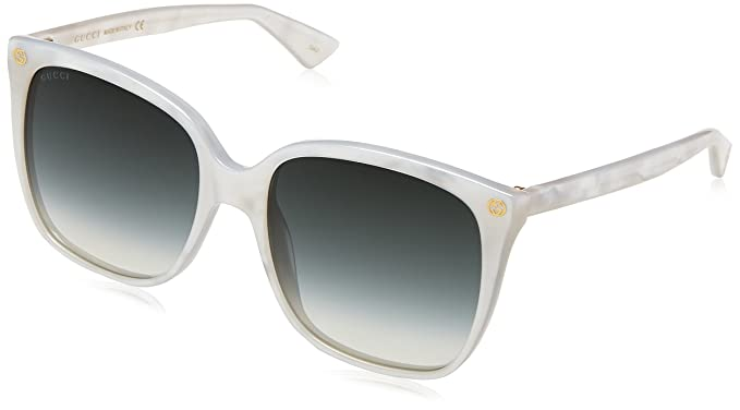 9611a99cf6 Image Unavailable. Image not available for. Colour  Gucci Women s GG0022S  004 Sunglasses ...