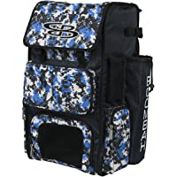 Boombah Superpack Bat Pack - Backpack Version (no Wheels) - Holds 4 Bats - Camo Series - Multiple Color Options - for…