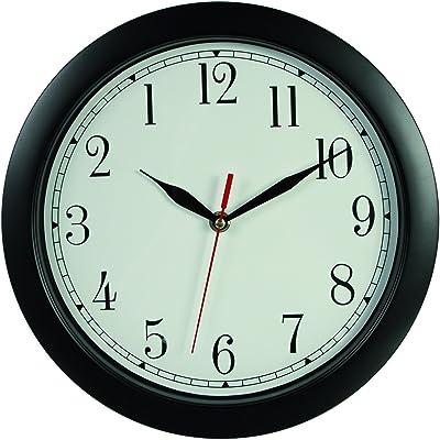 Amazon.com: InterDesign Forma Suction Wall Clock for