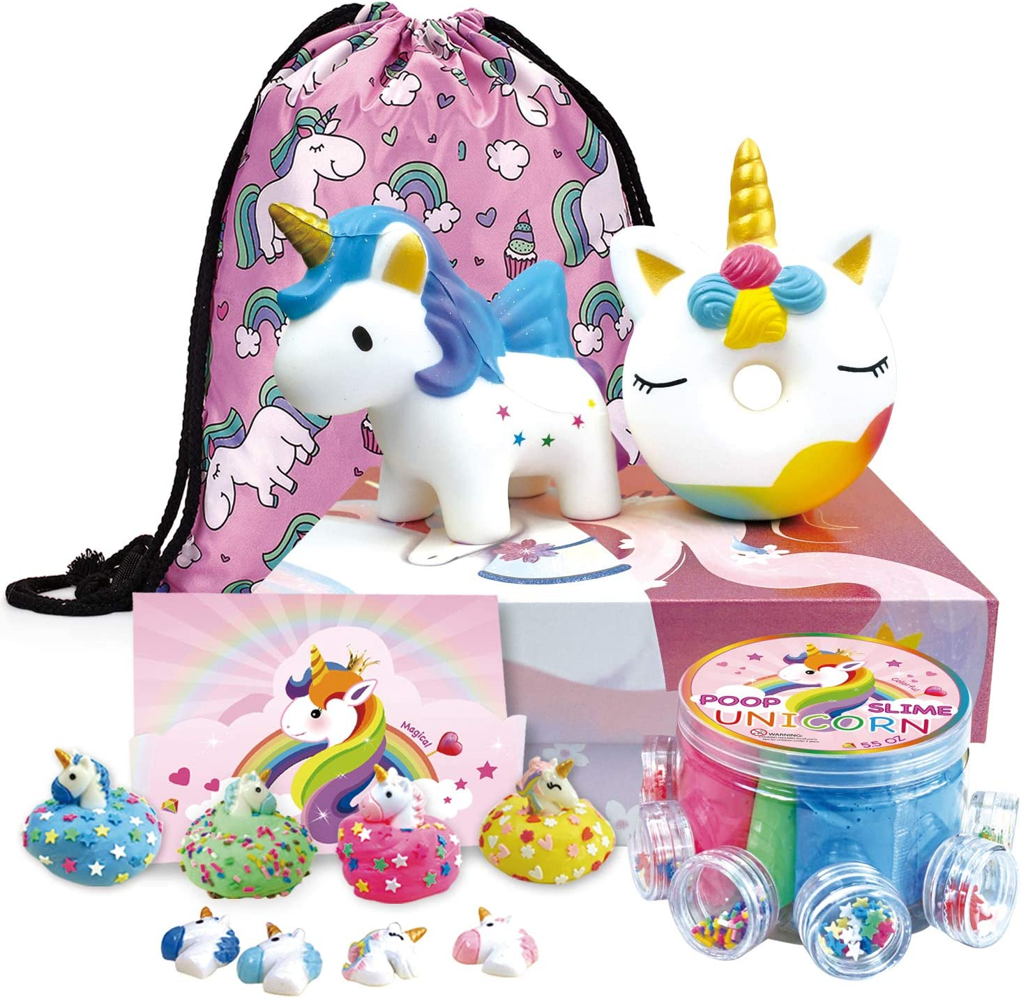 GB02694 Childrens Gift Box Cloud Nine Unicorn Money Bank