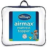 Silentnight Airmax Mattress Topper, White, Single