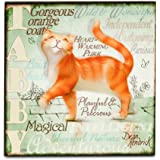 Wall Art - My Pedigree Pals Dogs Pictures (Ginger Tabby Cat)