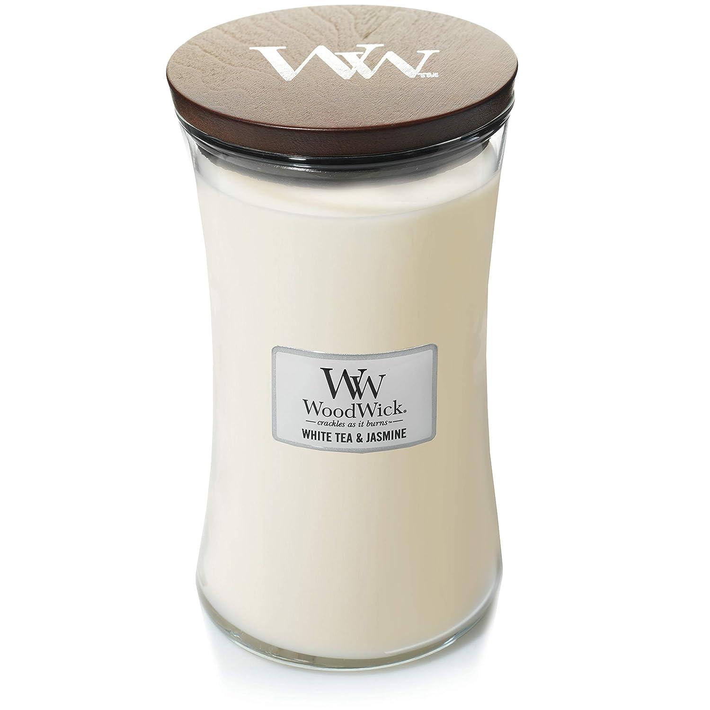 Grande bougie jarre parfumé e Woodwick, White Tea & Jasmine Newell Brands 93062E