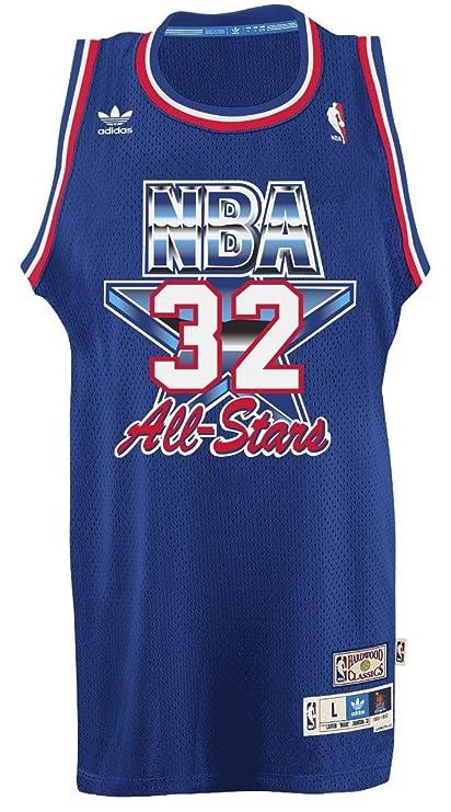 ac030d73e96 Magic Johnson Los Angeles Lakers Adidas NBA 1992 All-Star Game Swingman  Jersey