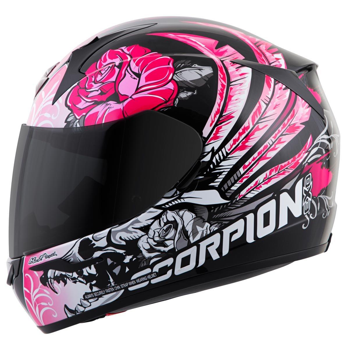 Amazon.com: Scorpion EXO-R410 Novel Street Motorcycle Helmet (Black/Blue, X-Small): Automotive