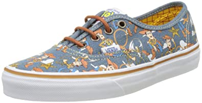 Amazon Com Vans Authentic Disney Pixar Toy Story Sheriff Woody