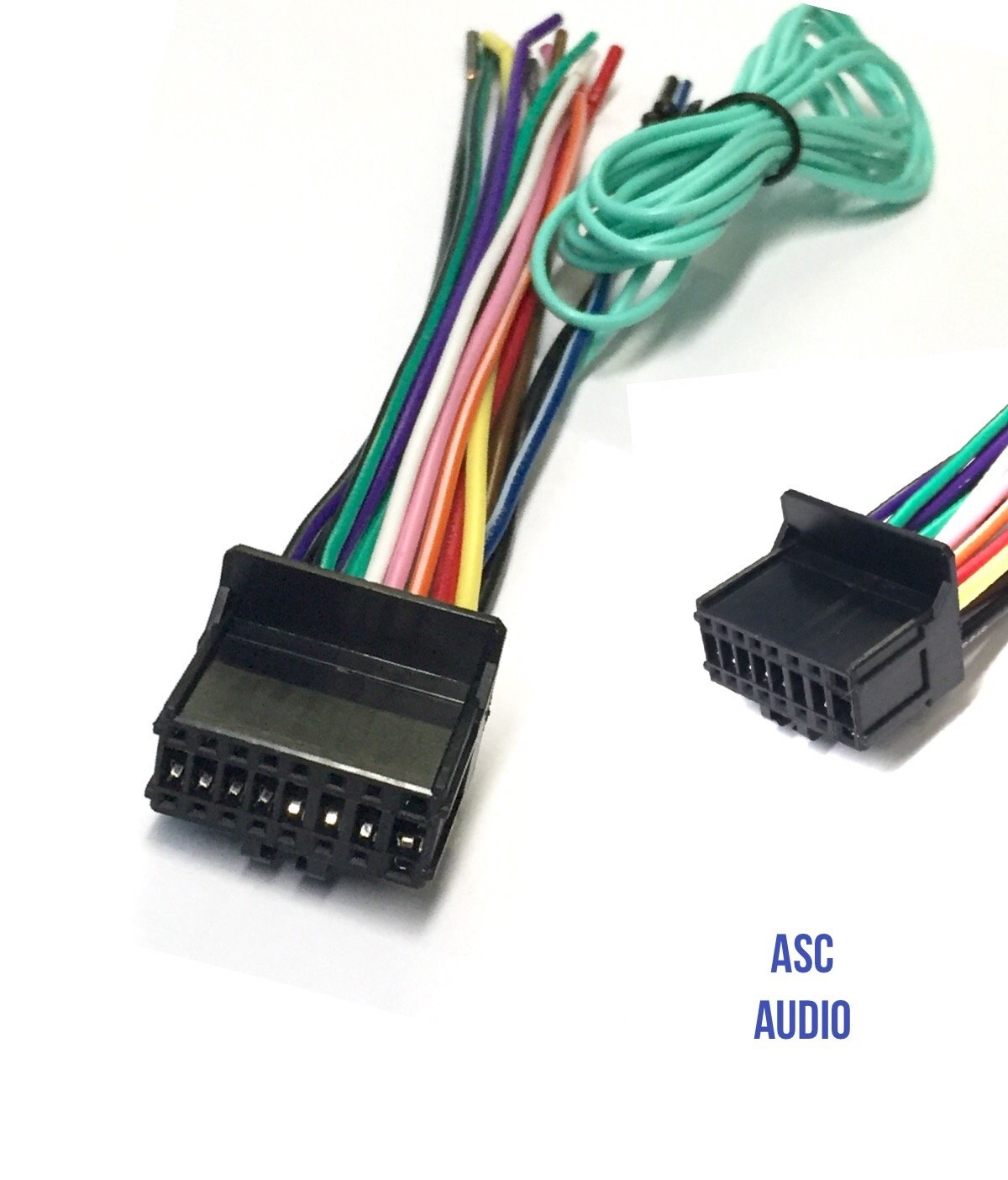 Asc Car Stereo Power Speaker Wire Harness Plug For Pioneer Premier Avh P2300dvd Wiring Diagram Aftermarket Dvd Nav Radio P4200dvd P4300dvd P4250dvd Cdp1301 Cdp1089
