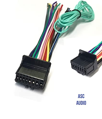 Swell Amazon Com Asc Car Stereo Power Speaker Wire Harness Plug For Wiring Database Numdin4X4Andersnl