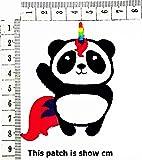 Panda Rainbow Unicorn Horse Fancy Animal Cartoon