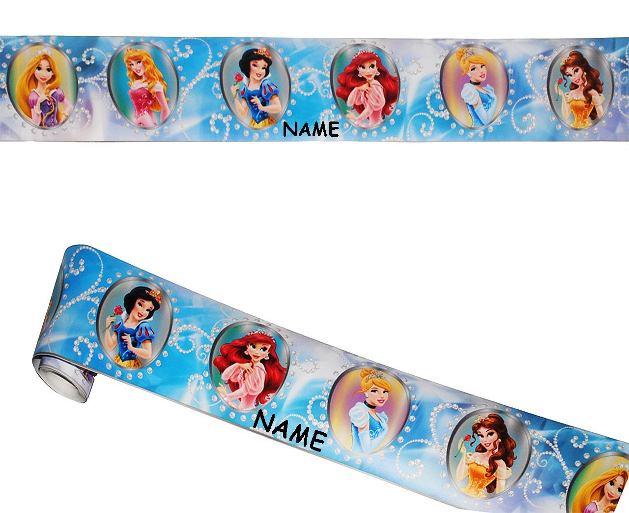 alles-meine.de GmbH Wandbordüre - Selbstklebend - Disney Princess ...