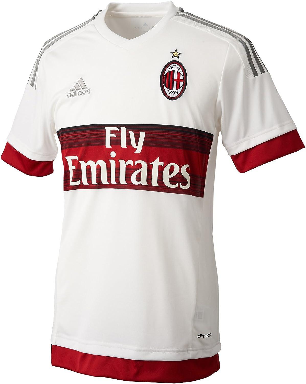 2ª Equipación AC Milan 2015/2016 - Camiseta oficial adidas: Amazon.es: Ropa y accesorios