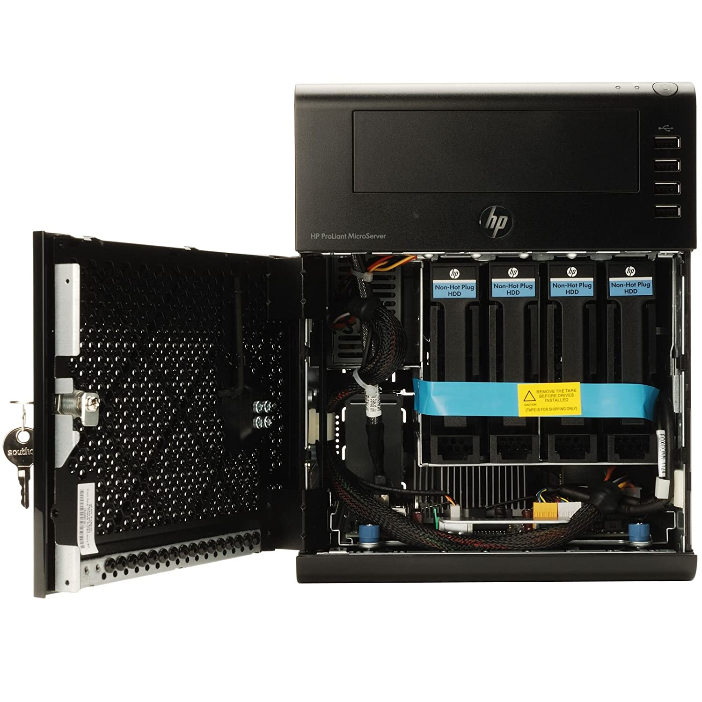 HP ProLiant N40L 1P 2GB-U Emb SATA NHP 250GB LFF 150W PS MicroServer