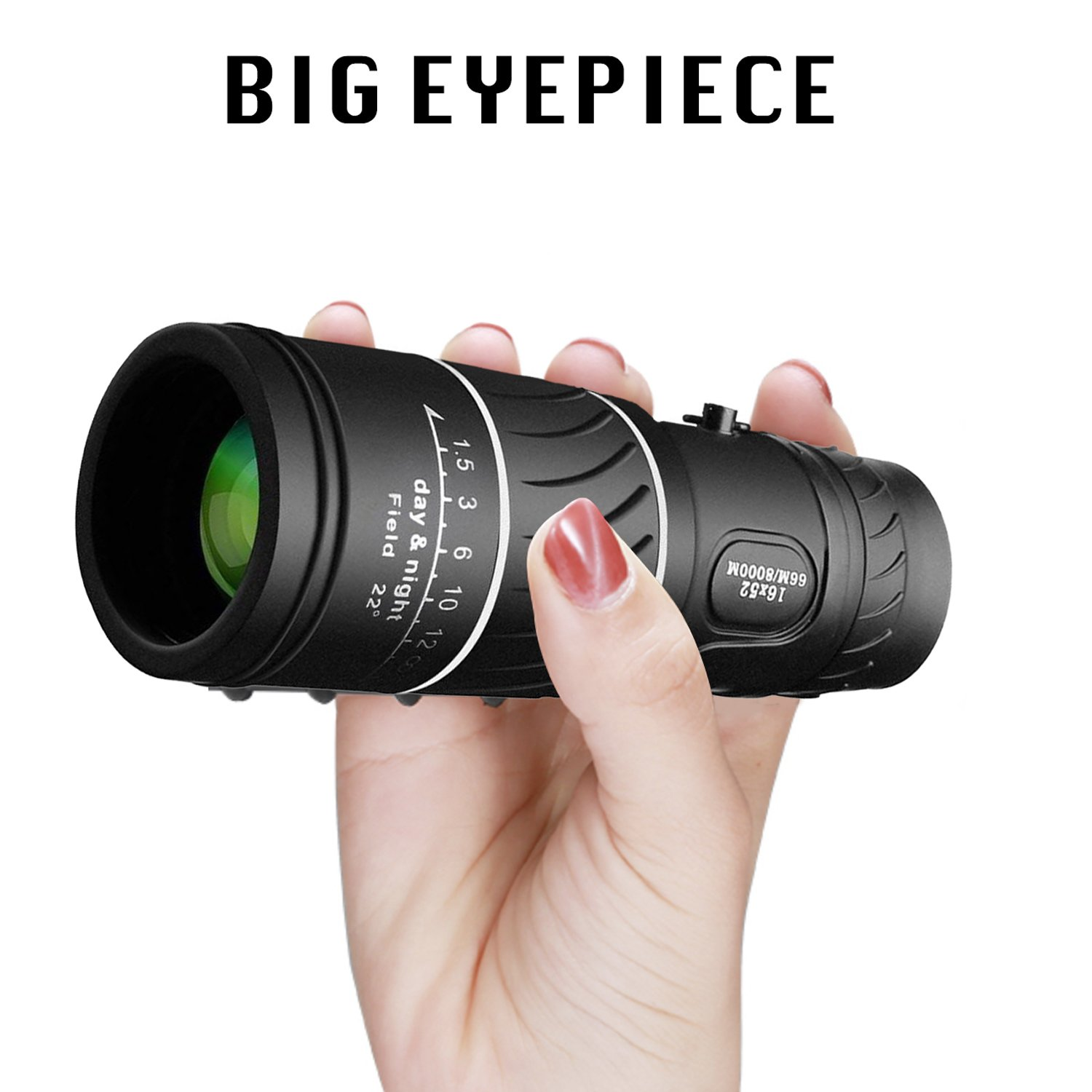 VOCH Monocular Telescope, 10X40 Dual Focus, Prism Film Optics,Waterproof, Monocular Scope for Birdwatching/Hunting/Camping/Hiking/Golf/Concert/Surveillance