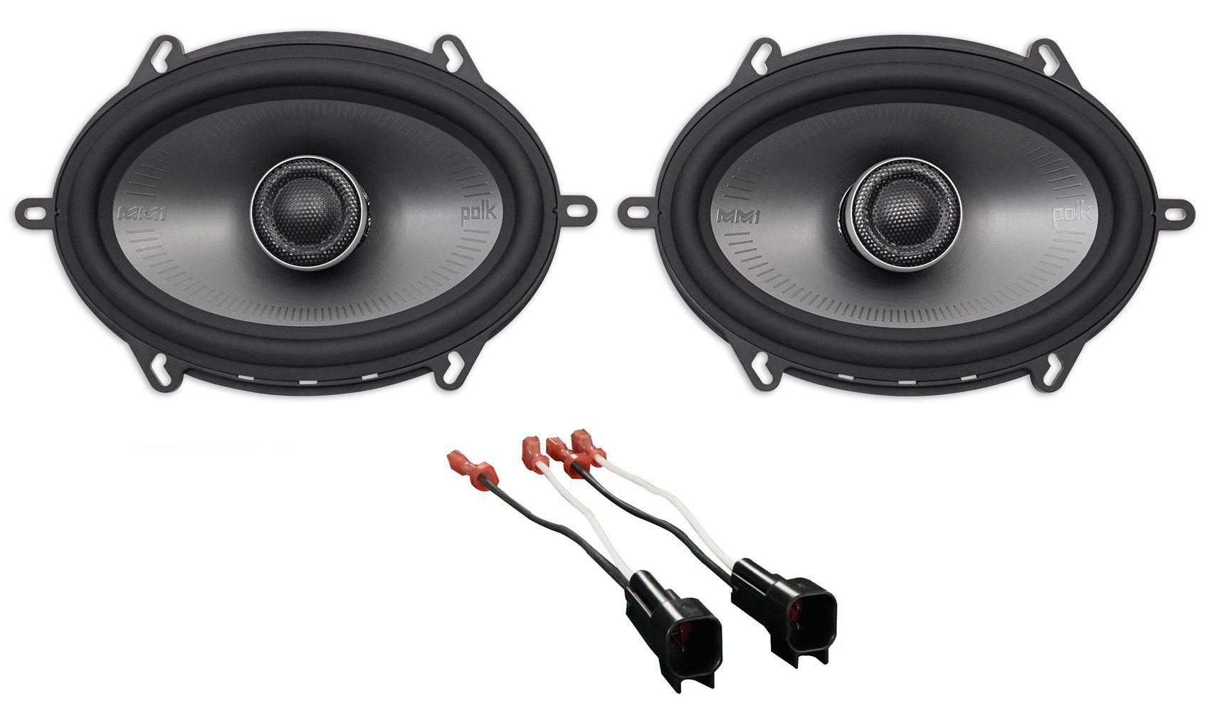 2011-2015 Ford F-650/750 Polk 5x7'' Front Factory Speaker Replacement Kit