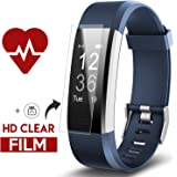 KINBOM Fitness Tracker, Heart Rate Monitor Color Screen Smart Bracelet With Sleep Monitor, Step Counter, Message Reminder,Waterproof Activity Tracker for Android&iOS Smart Phone
