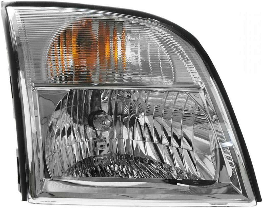 Headlight Headlamp Driver Side Left LH NEW for 98-01 Mercury Mountaineer