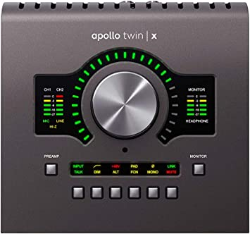 Amazon.com: Universal Audio Apollo Twin X DUO Thunderbolt 3 ...