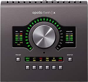 Universal Audio Apollo Twin X DUO Thunderbolt 3 Audio Interface, (APLTWXD)