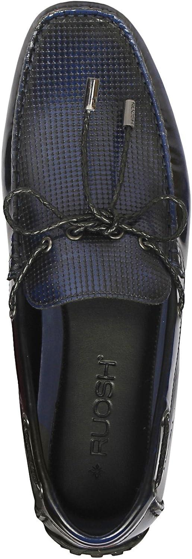 45 EU 11 UK//India Ruosh Mens Blue Loafers AW17-OSLOW-01 C