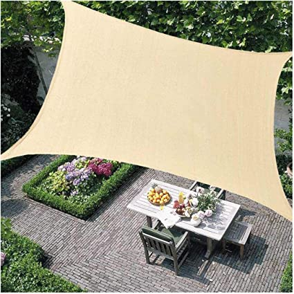 Outdoor Shade Sail Patio Suncreen Awning Garden Sun Canopy 98/% UV Block New