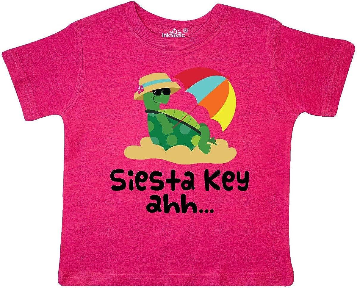 inktastic Siesta Key Florida Summer Vacation Toddler T-Shirt