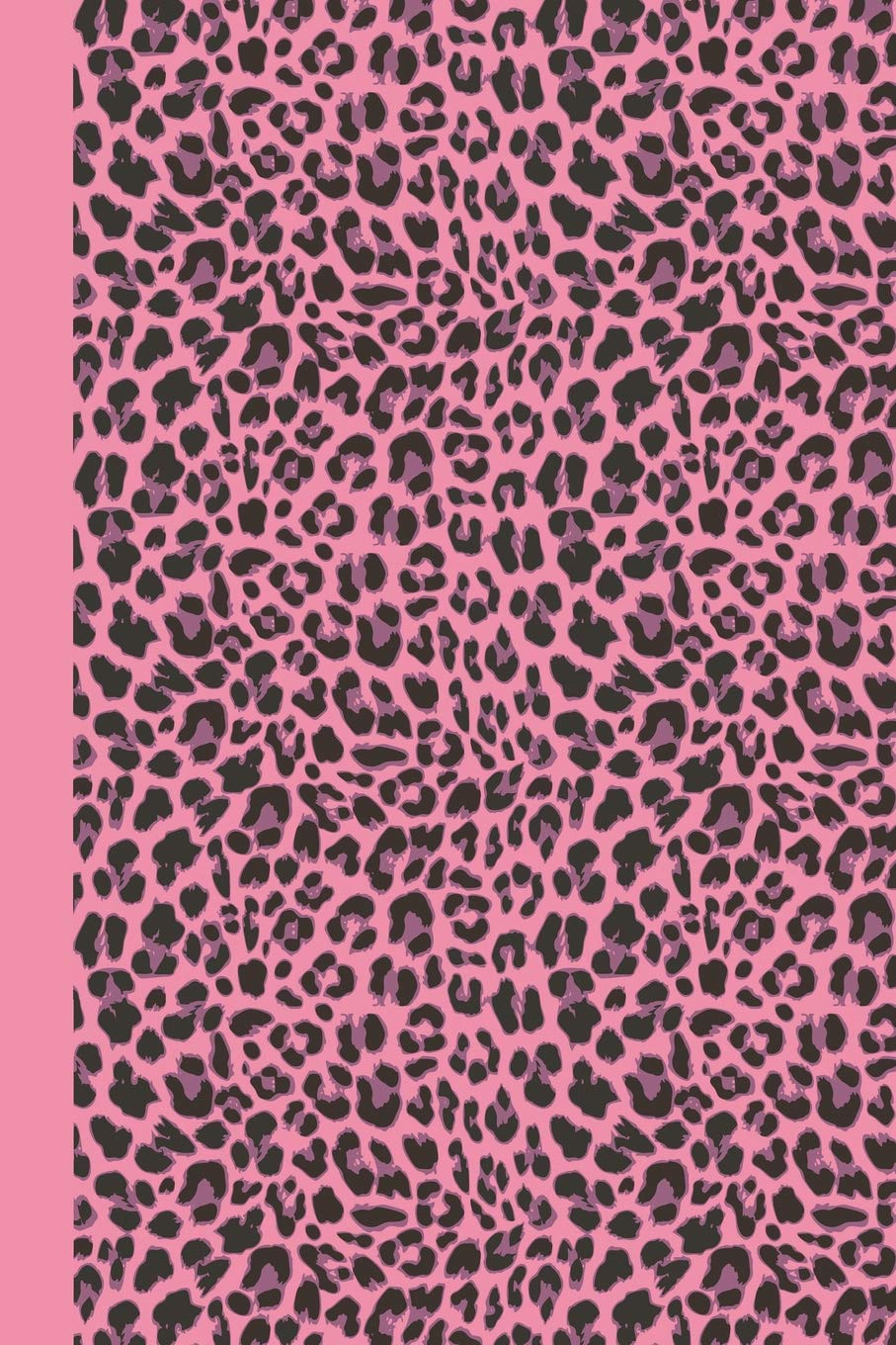 Sketchbook: Animal Print (Pink Leopard) 6x9 - BLANK JOURNAL WITH NO LINES - Journal notebook with unlined pages for drawing and writing on blank paper (Animal Print Sketchbook Series) pdf