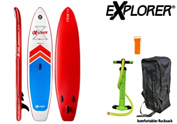 Explorer 2 Sup Inflatable Stand Up Paddle Surf Board ISUP hinchable Board 335/15 cm