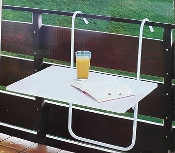 Balkonklapptisch weiss  Amazon.de: Balkontisch Tisch Balkon Balkonklapptisch weiß