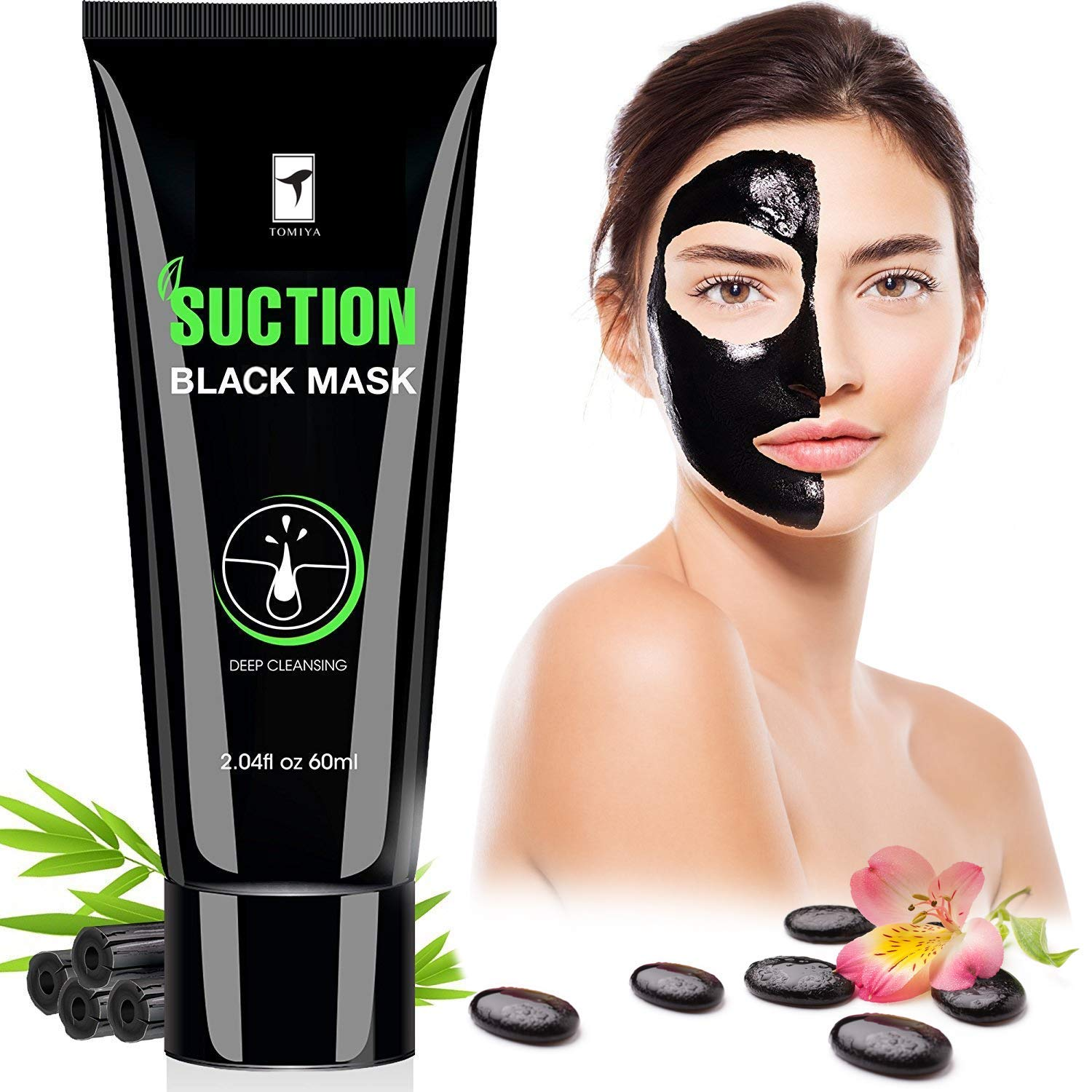 Piero Lorenzo Blackhead Remover Mask, Blackhead Peel Off Mask, Face Mask, Blackhead Mask, Black Mask Deep Cleaning Facial Mask for Face Nose 60g BM by Piero Lorenzo