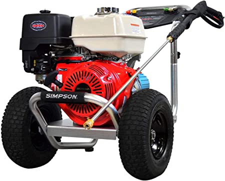 Simpson 4200 psi pressure washer is an example of a well-engineered heavy-duty commercial pressure washer machine.