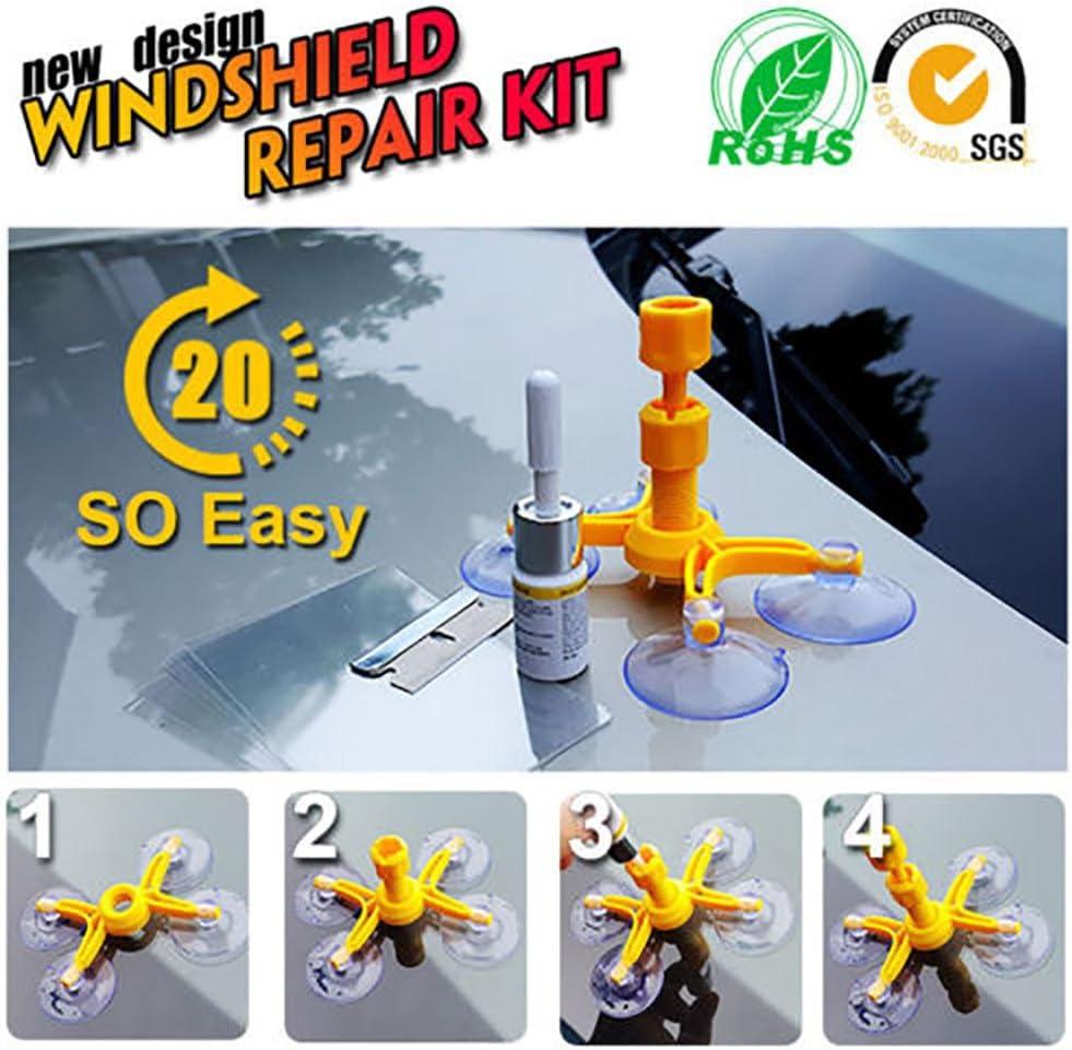 Lanceasy Kfz-Glasreparaturfl/üssigkeit Windschutzscheibenreparatursatz Reparaturharz f/ür Windschutzscheiben